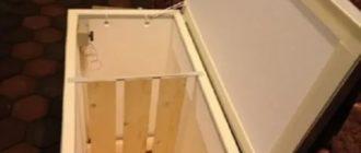 Ящик для зимнего хранения овощей на балконе